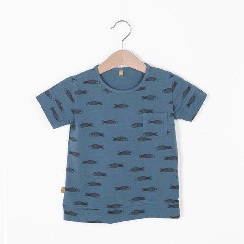 Lotiekids Lotiekids T-shirt Fishes Lake Blue