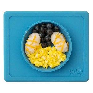EZPZ EZPZ Mini bowl Placemat & bowl in one Blue/ blauw