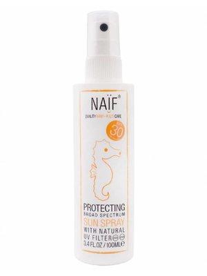 Naif Zonnebrand spray (SPF 30) 100 ml