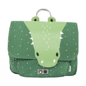 Trixie Trixie schooltas/rugtas Mr. Crocodile Meneer Krokodil