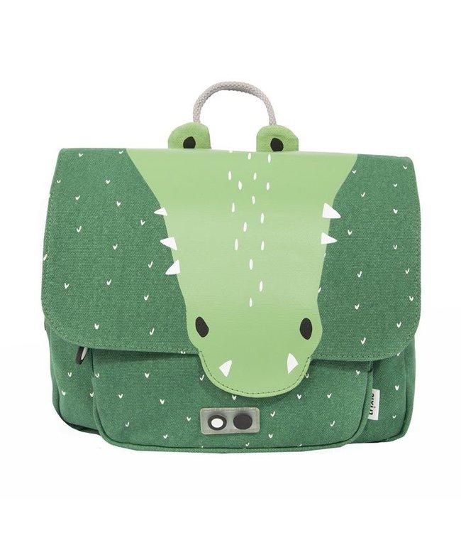 Trixie Trixie schooltas/rugtas Mr. Crocodile