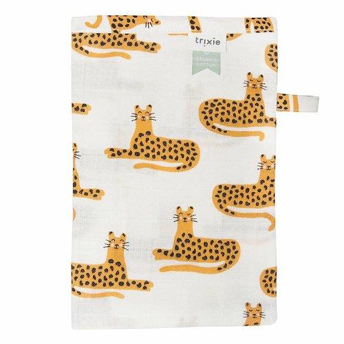 Trixie Trixie Hydrofiel washandjes 3 stuks Cheetah