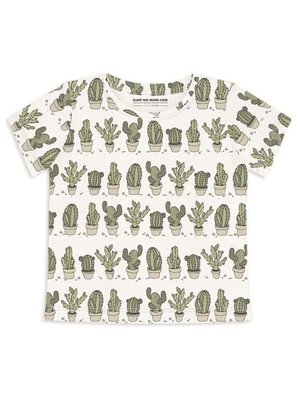 Sleep No More Sleep No More T- shirt CAN'T TOUCH THIS Cactus korte mouwen