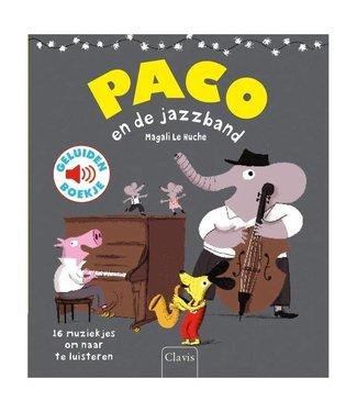 Paco en de jazzband - geluidenboek. Magali Le Huche