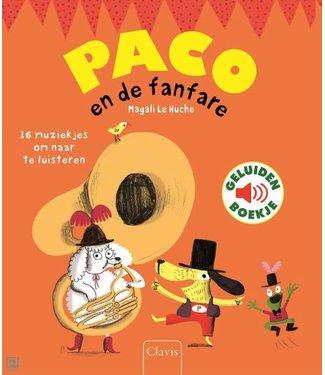 Paco en de fanfare - geluidenboek. Magali Le Huche