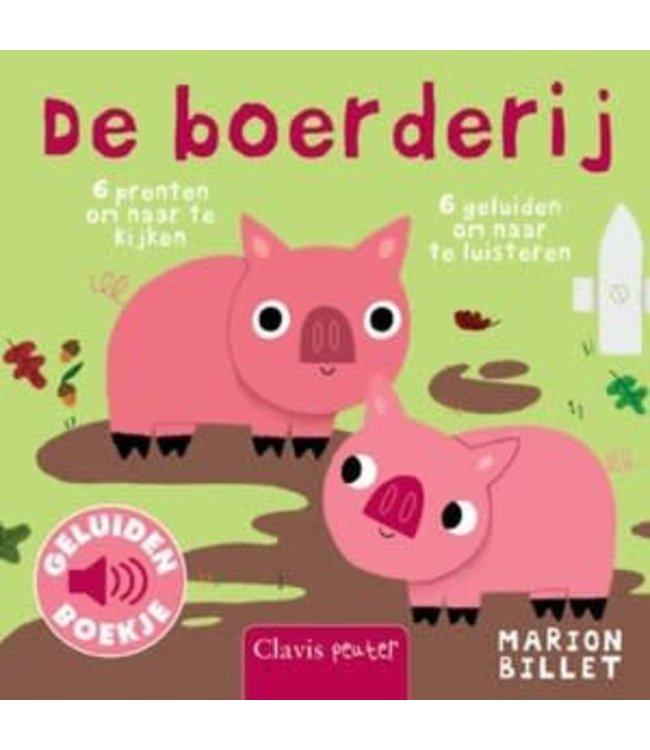 De boerderij - Geluidenboek. Marion Billet