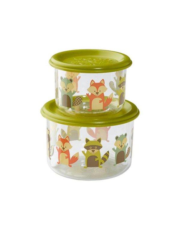 Sugarbooger Sugarbooger Snackbox set 2 st. What did Fox eat?