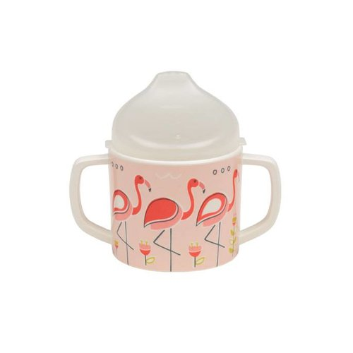 Sugarbooger Sugarbooger Sippy cup Flamingo