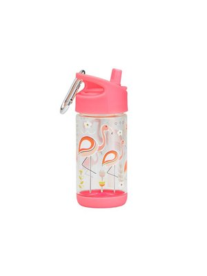 Sugarbooger Sugarbooger Flip & sip beker Flamingo 350 ml