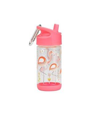 Sugarbooger Sugarbooger Flip & sip beker Flamingo 350 ml