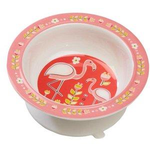 Sugarbooger Sugarbooger Babykommetje met zuignap Flamingo
