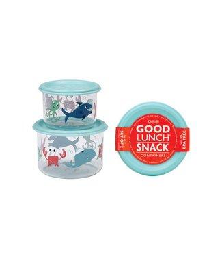 Sugarbooger Sugarbooger Snackbox set 2 st. Ocean