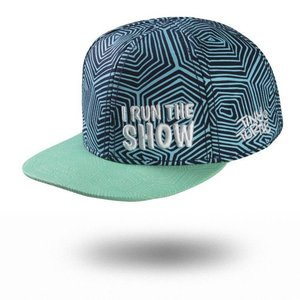Tiny Turtle Cap Highback Shell 'I Run The Show'