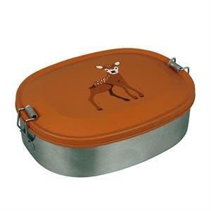 Lunchbox Deer, roestvrij staal