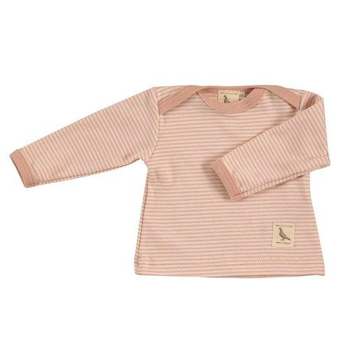 Pigeon Pigeon Shirt Pink Stripe lange mouwen