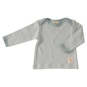 Pigeon Pigeon Shirt Turqoise Stripe lange mouwen