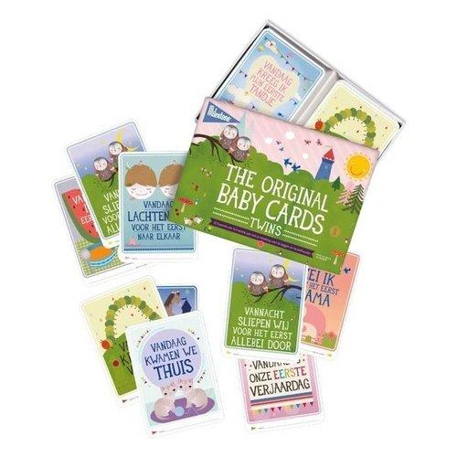 Milestonecards the original babycards twins/tweeling NL