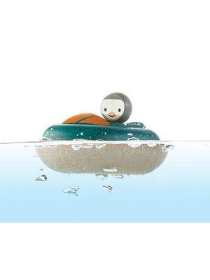 Plan Toys Speedboat van duurzaam hout