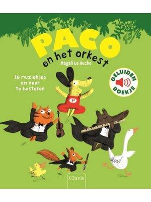 Paco en het orkest - geluidenboek. Magali Le Huche
