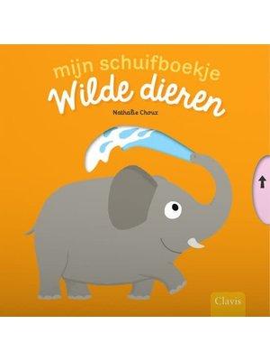 Wilde dieren - Schuifboekje. Nathalie Choux