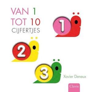 Van 1 tot 10 - Cijfers. Xavier Deneux