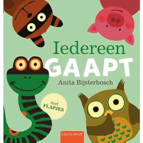 Iedereen gaapt - Flapjesboek. Anita Bijsterbosch