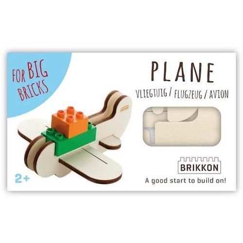 Brikkon  Vliegtuig voor Duplo