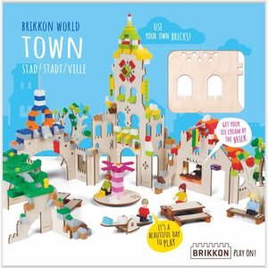 Brikkon Stad voor Lego