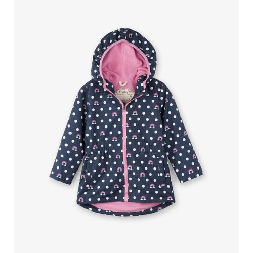 Hatley Hatley Dots and Rainbows Microfiber Regenjas