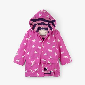 Hatley Hatley Unicorn Regenjas - Colour changing
