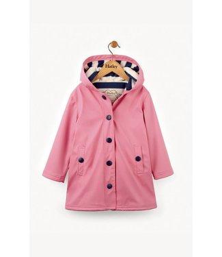 Hatley Hatley Classic Pink & Navy Regenjas