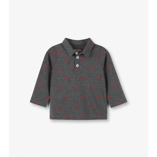Hatley Hatley Moose baby Polo- shirt