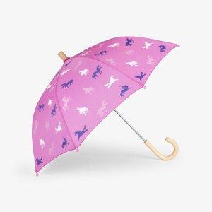 Hatley Hatley Unicorn Paraplu - colour changing