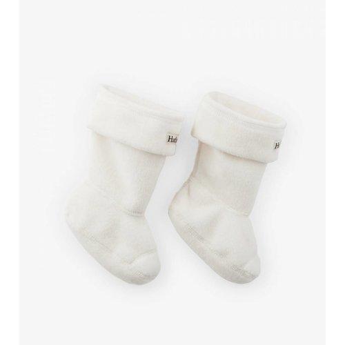 Hatley Hatley Fleece Bootliners/ Binnensok voor regenlaarsjes Cream (maat 21 t/m 24)