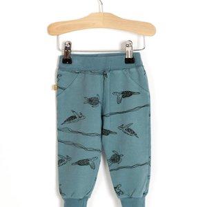 Lotiekids Semi baggy pants Whale blue Turtles