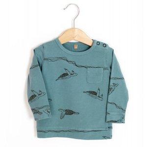 Lotiekids Sweatshirt Turtles Whale blue