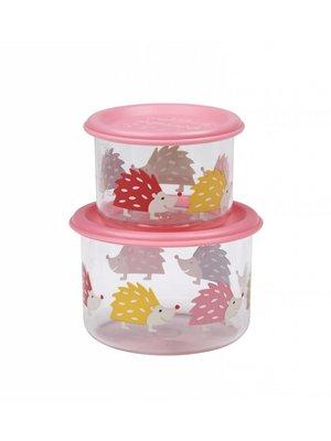 Sugarbooger Sugarbooger Snackbox set 2 st. Hedgehog