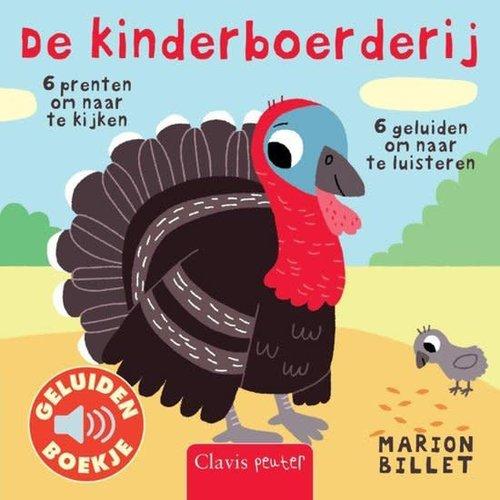 De kinderboerderij - Geluidenboek. Marion Billet