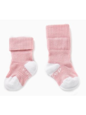 Blijf sokjes met ingebreide blijf- zitten- zones 2 paar Pink - Ziggy