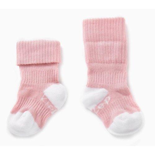 Kipkep Blijf sokjes met ingebreide blijf- zitten- zones 2 paar Pink - Ziggy
