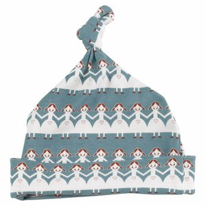 Pigeon Babymutsje met knoop Paper Dolls