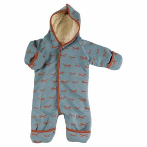 Pigeon Snuggle Suit Fox Blue