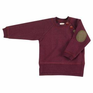 Pigeon Sweatshirt met elleboog patches Fig