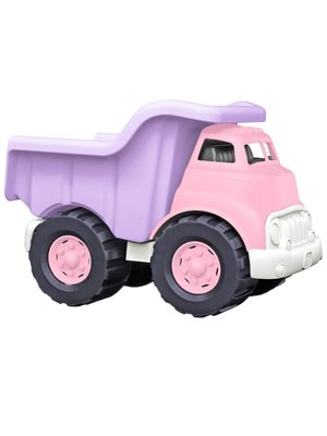Green Toys Dump Truck Pink - Kiepwagen Roze van gerecycled plastic