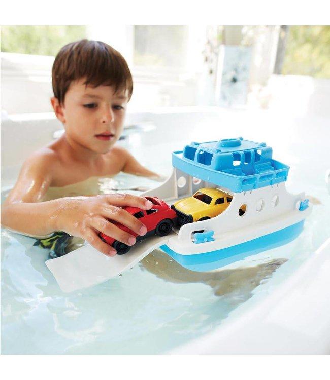 Green Toys Ferry Boat - Veerboot met auto's van gerecycled plastic