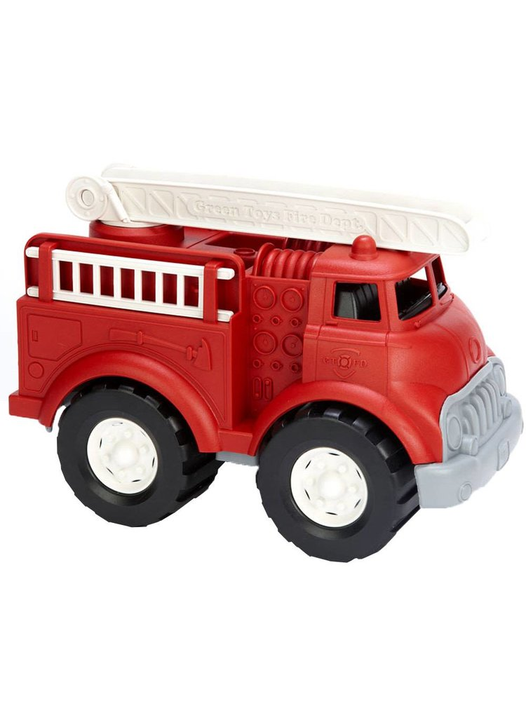 Green Toys Fire Truck - Brandweerauto van gerecycled plastic