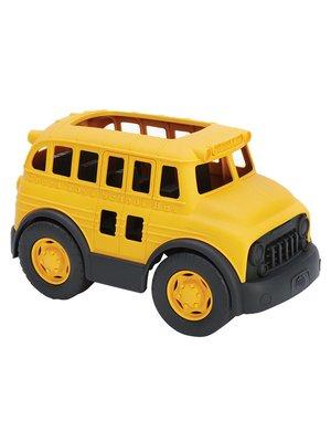 Green Toys School Bus van gerecycled plastic