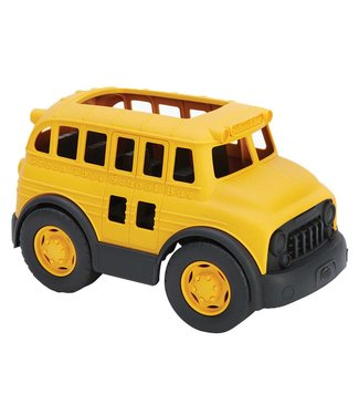 Green Toys School Bus van gerecycled plastic