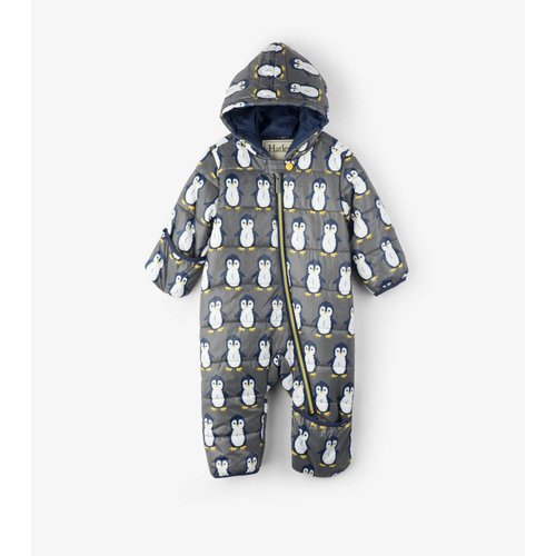 Hatley Hatley baby winterpak met waterproof Teflon coating Pinguin Pewter