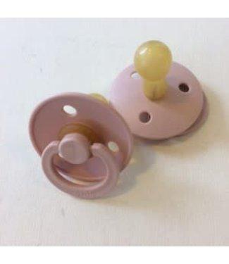 Bibs Bibs speen natuurlijk rubber Blush/ Roze maat 2 (6-18 maanden)